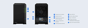NAS-устройство Synology DiskStation DS218play
